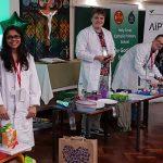 Outreach: ESR1 demonstrating Optics at School Careers Fair