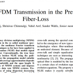 Latest paper published